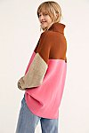 Thumbnail View 2: Softly Structured Color-Blocked Tunic
