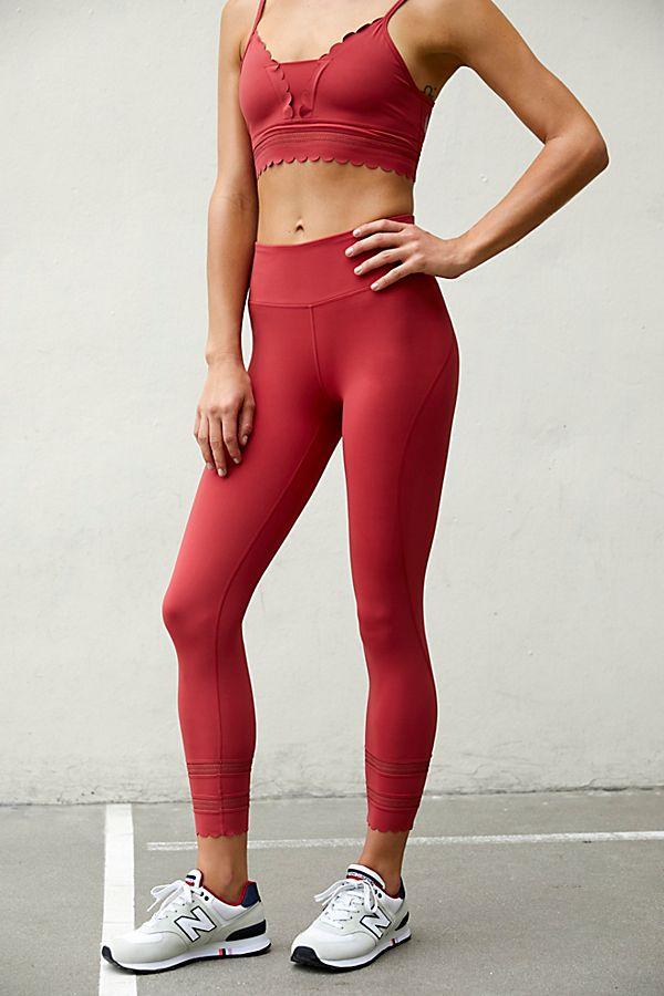 Femmes Fitness pant Body jogging short rose yoga pants wellness complet