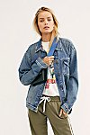 Thumbnail View 2: Ramona Denim Trucker Jacket