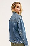 Thumbnail View 3: Ramona Denim Trucker Jacket