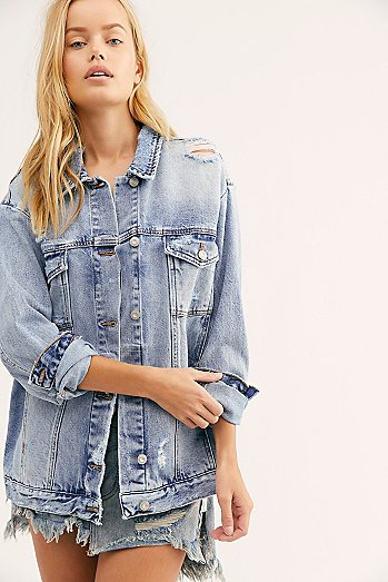 Ramona Denim Trucker Jacket