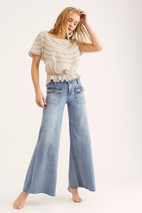 Slide View 1: Hailey Low Rise Bell Bottom Jeans