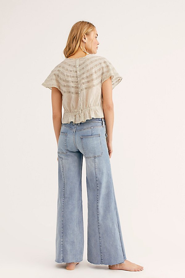 Slide View 2: Hailey Low Rise Bell Bottom Jeans