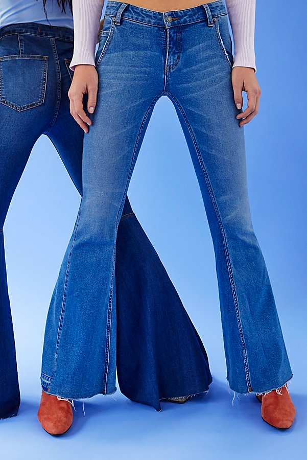Slide View 6: Palisades Low-Rise Bell Bottom Jeans