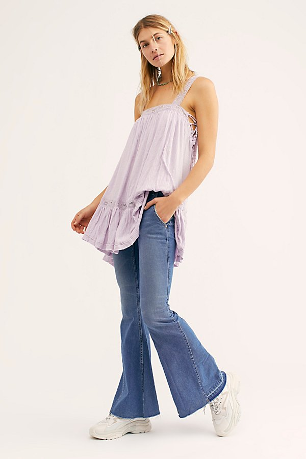 Slide View 2: Palisades Low-Rise Bell Bottom Jeans