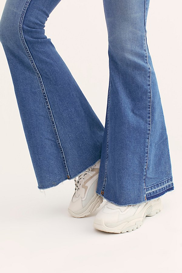 Slide View 5: Palisades Low-Rise Bell Bottom Jeans