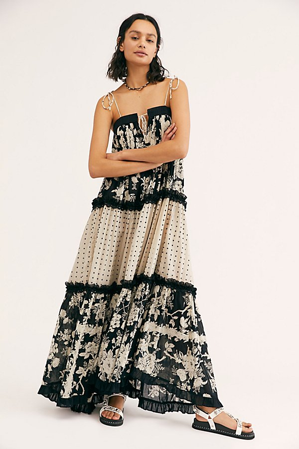 Slide View 1: Anais Mixed Print Dress