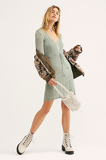 Miranda Sweater Mini Dress