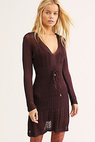 Miranda Sweater Mini Dress by Free People