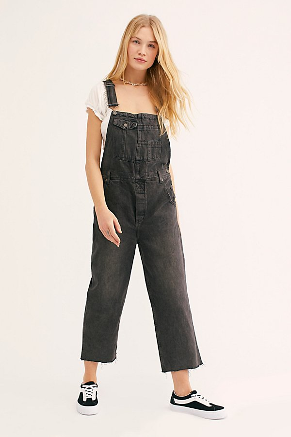 Slide View 2: Baggy Boyfriend Dungarees