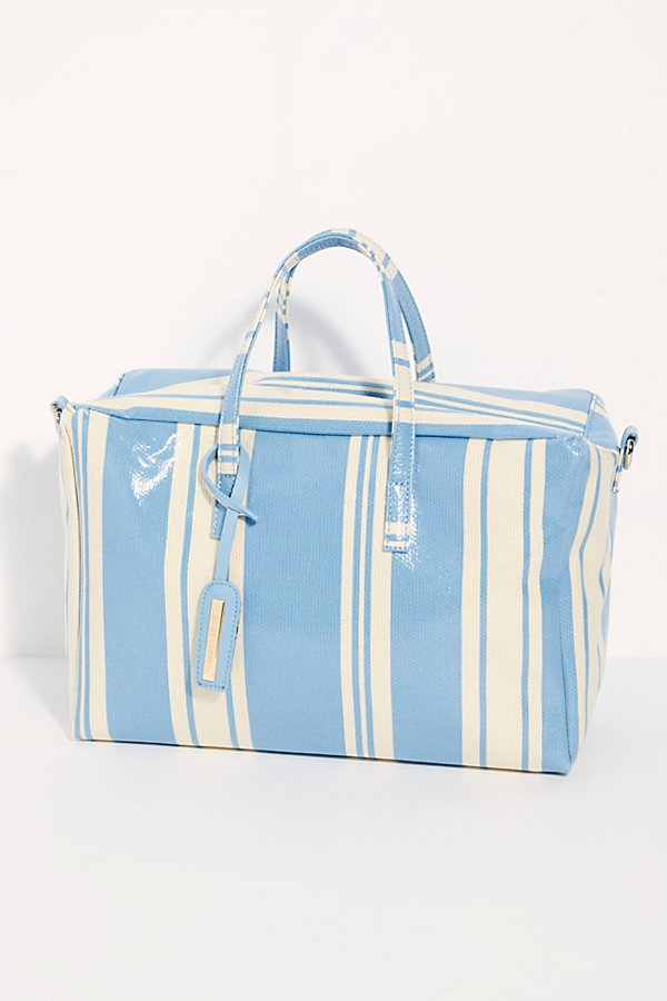 Slide View 2: Clementine Striped Square Duffle