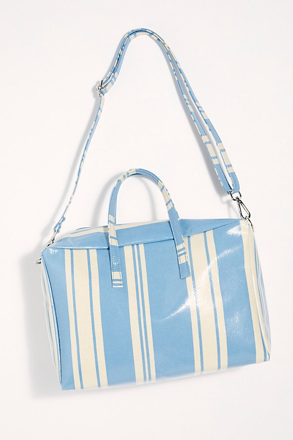 Slide View 4: Clementine Striped Square Duffle