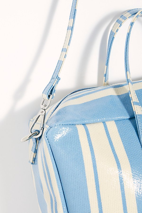 Slide View 5: Clementine Striped Square Duffle