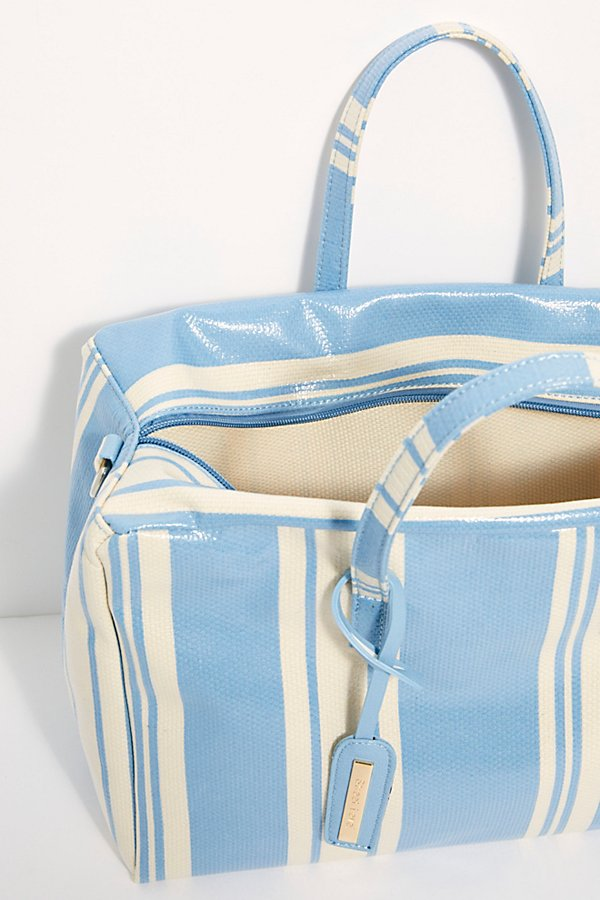 Slide View 6: Clementine Striped Square Duffle