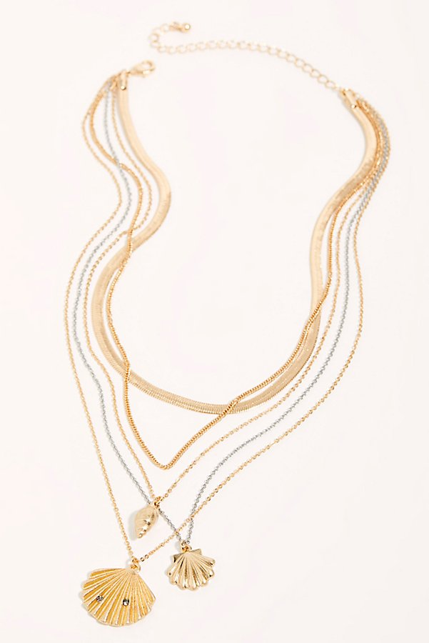 Slide View 3: Charmed Layering Necklace