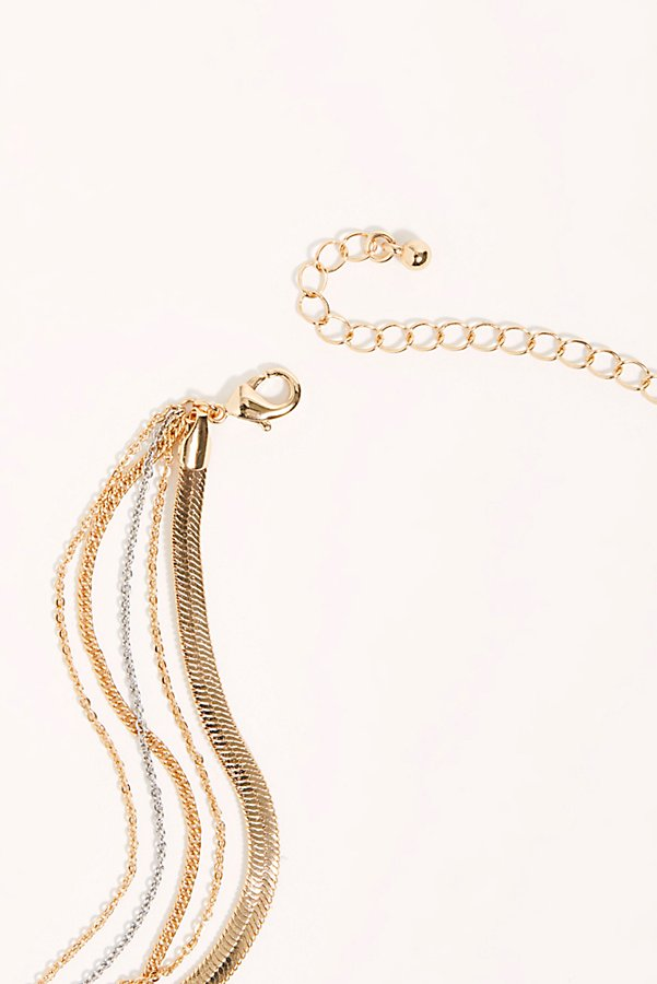 Slide View 4: Charmed Layering Necklace