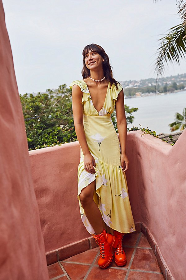 Slide View 1: She's A Waterfall Maxi Dress