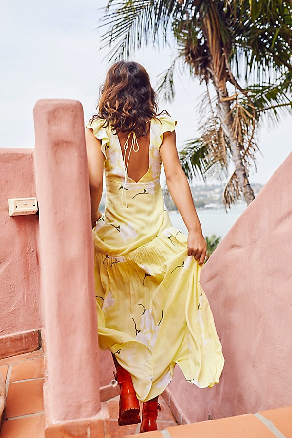 Slide View 3: She's A Waterfall Maxi Dress