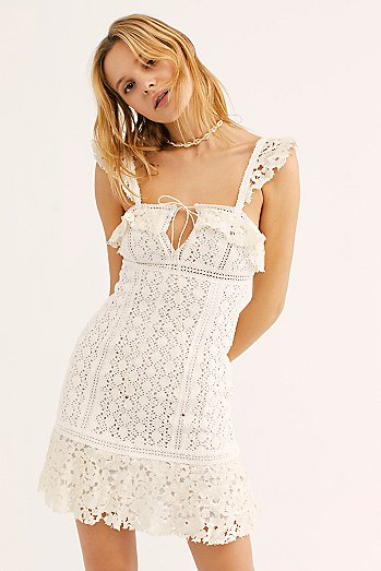 Cross My Heart Mini Dress