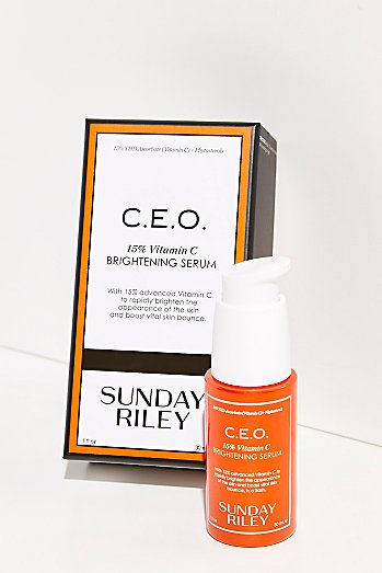 Sunday Riley C.E.O Rapid Flash Brightening Serum