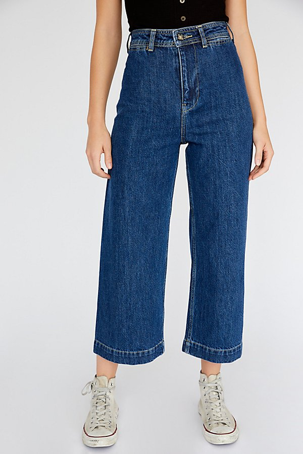 Slide View 3: Devon Wide-Leg Jeans