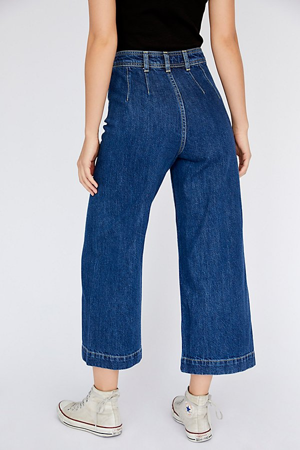 Slide View 4: Devon Wide-Leg Jeans