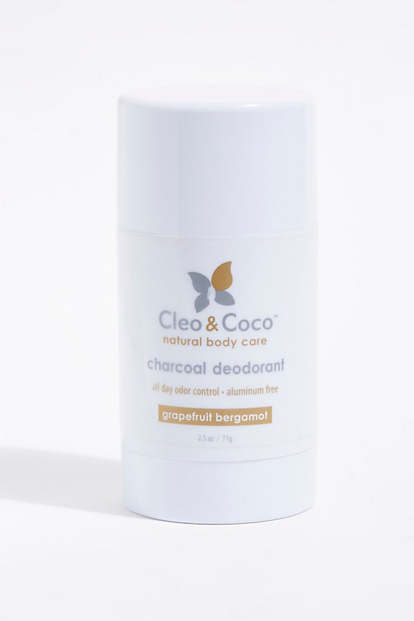Slide View 1: Cleo & Coco Charcoal Deodorant