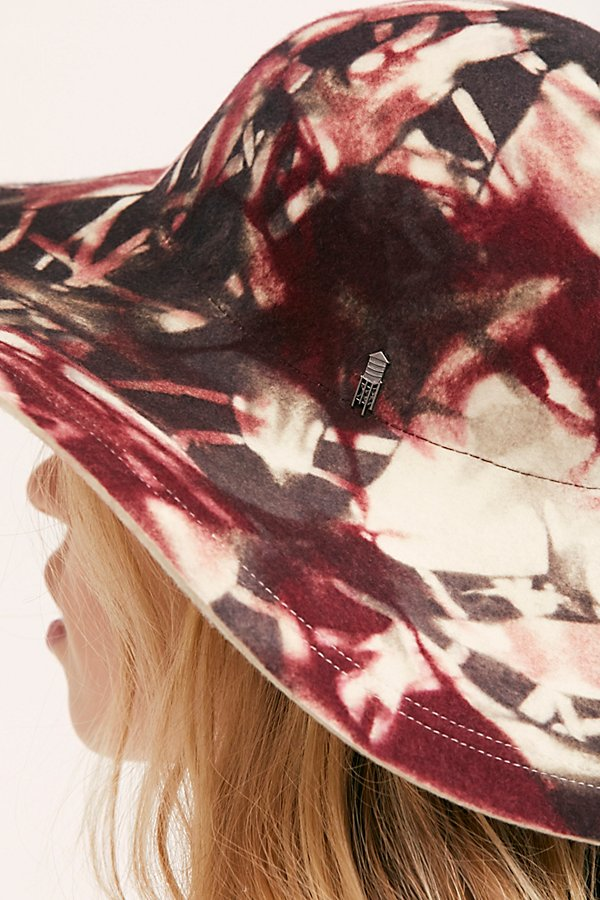 Slide View 4: Vertigo Tie Dye Floppy Hat