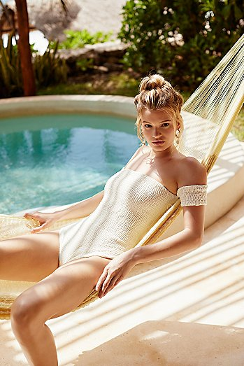 The Maria Ruched One-Piece Swimsuit