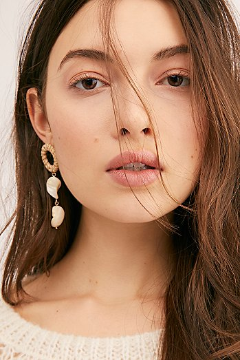 Just Beachy Asymmetric Earrings