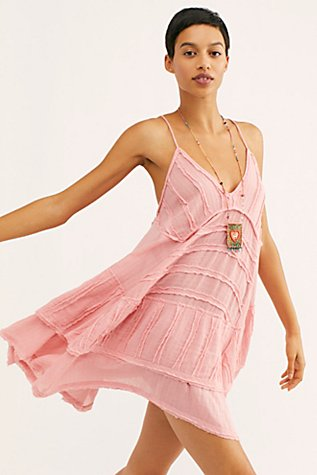At First Glance Mini Dress by Free People