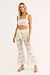 Thumbnail View 3: Dragonfly Crochet Flare Pants