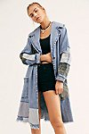 Thumbnail View 1: Patchwork Denim Duster