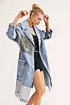 Thumbnail View 3: Patchwork Denim Duster