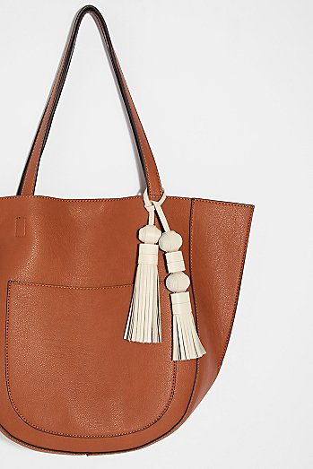 FEED Leather Double Tassel