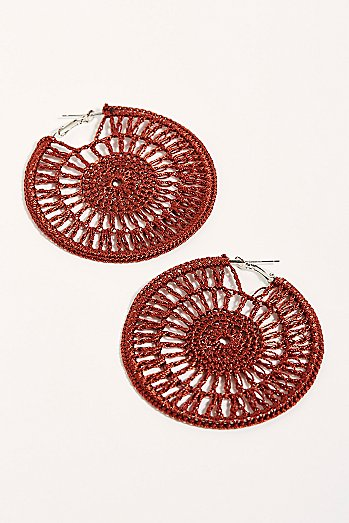 Serefina Sunshine Hoop Earrings