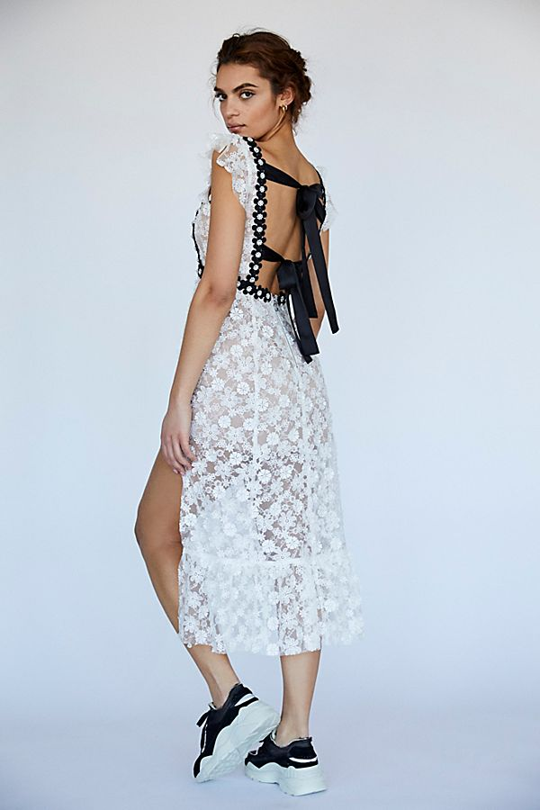 21c96a9964 Isabel Embroidered Midi Dress