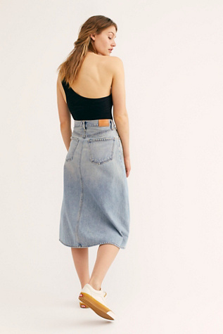 Florence Denim Midi Skirt by Citizens Of Humanity