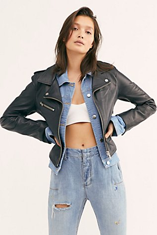 Demi Leather Jacket by Doma