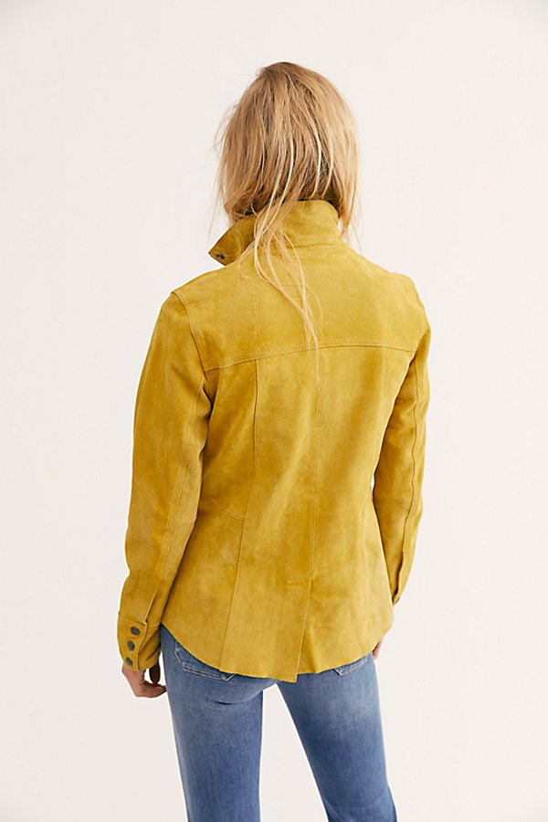 Slide View 2: Kimberly Suede Shirt Jacket