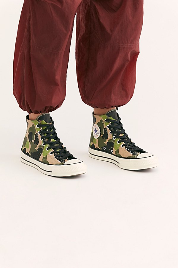 Slide View 3: Chuck 70 Archive Print Hi-Top Sneaker
