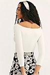 Thumbnail View 4: Square Neck 3/4 Sleeve Top