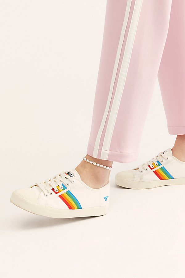 Slide View 2: Gola Coaster Rainbow Sneakers