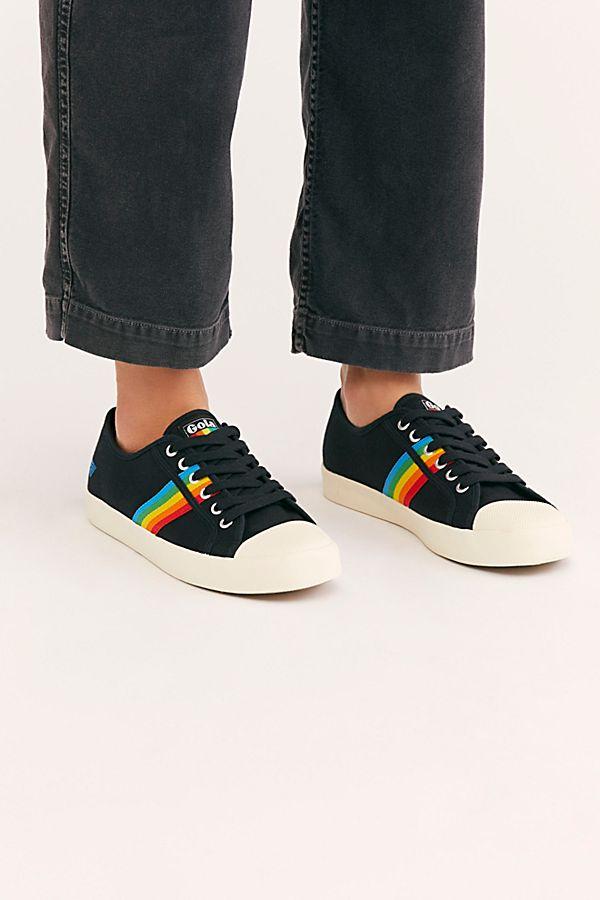 036f9fefb2 Gola Coaster Rainbow Sneakers