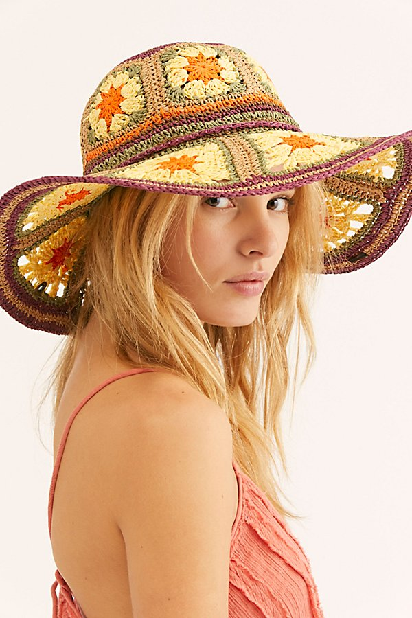 Slide View 2: Summer Of Love Straw Hat