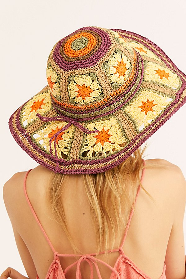 Slide View 3: Summer Of Love Straw Hat