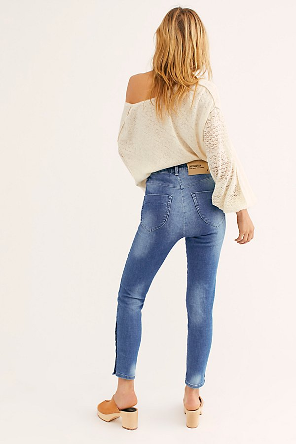 Slide View 2: OneTeaspoon Preachers High-Waist Skinny Jeans