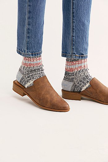 Mingle Marled Crew Socks