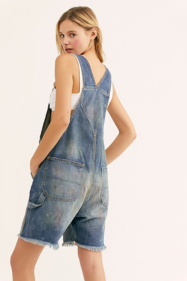 Slide View 2: Crystal Short Shortalls