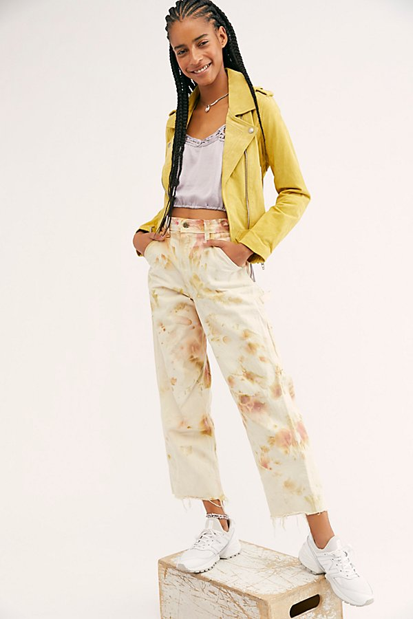 Slide View 1: Tie Dye Utility Trouser